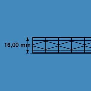 Polycarbonaat platen 16mm top-X